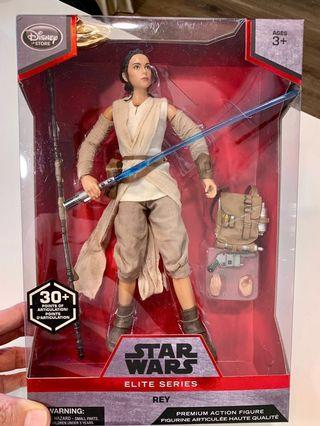 NEW Star Wars Rey Elite Series 10 inch Figurine (30+ Articulation Points) 1/7 scale Barbie