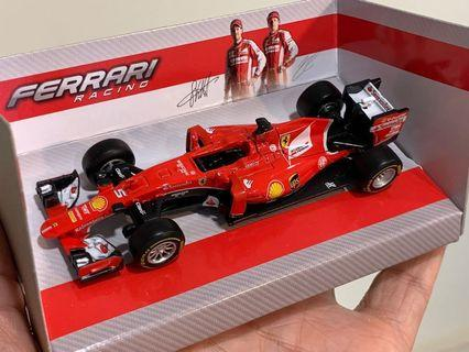 NEW 1/43 Ferrari F1 model Car Sebastian Vettel