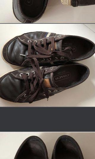 Authentic Coach Leather Shoes