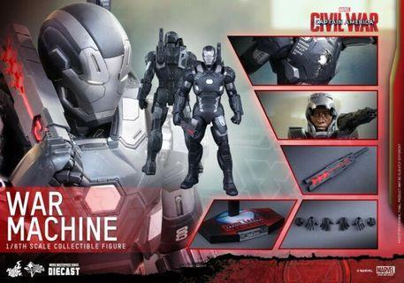 Hot Toys Civil War War Machine Mark 3