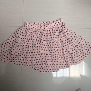 Polkadot Skirt #mauthr