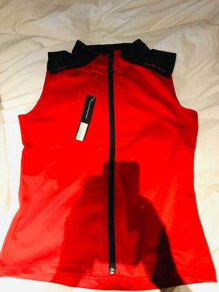 Sun Mountain red and black vest