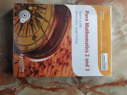 A2 Pure Mathematics 2 & 3 Textbook Hodder