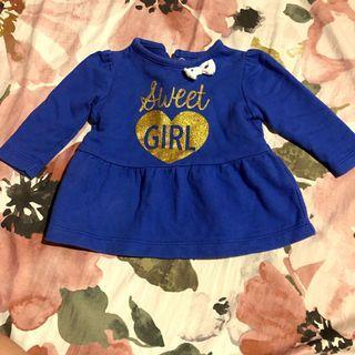 Baby Blue Dress 0-3 months