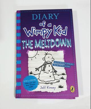 Buku Inggris: Diary of a Wimpy Kid: The Meltdown