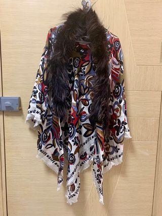 Fendi 披肩 Shawl Woven 2018 Autumn Winter Collection