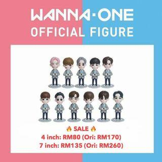 WANNA ONE - Official Figure (4 inch / 7 inch)