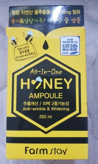 🚚 All in one honey ampoule