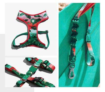 BN ZeeDog Bali Series Pets Dogs Cats Puppy Collar Harness Leash