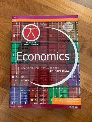 IB ECONS Economics Textbook: SL/HL Pearson