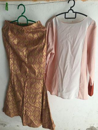 Blouse dan kain