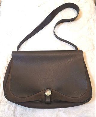 hermes saddle flap shoulder bag