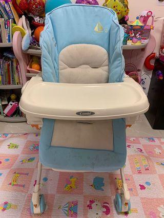Combi High Chair 跟兩椅套
