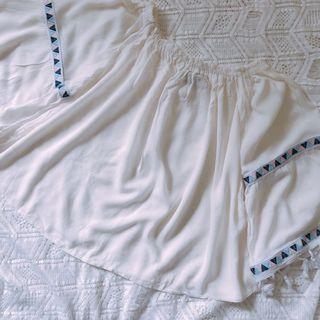 夏天易襯中長袖上身女裝衫