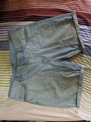 🚚 Uniqlo Denim Shorts Size L