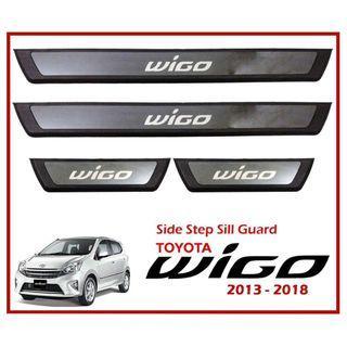Toyota Wigo 2013-2018 Side Step Sill Scuff Plate