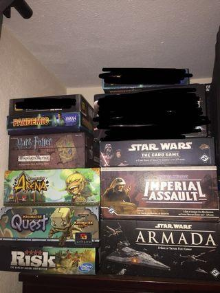 🚚 Board games for sale