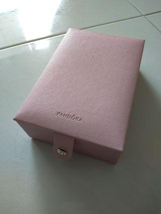 Pandora Jewellery Box & Moments Silver Bangle