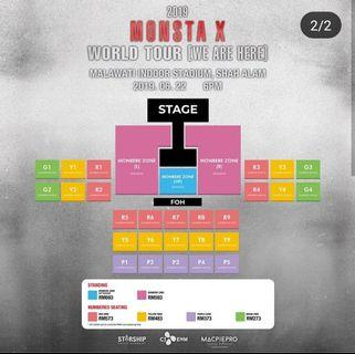 MONSTA X Ticket Tour in KL DISCOUNT!!