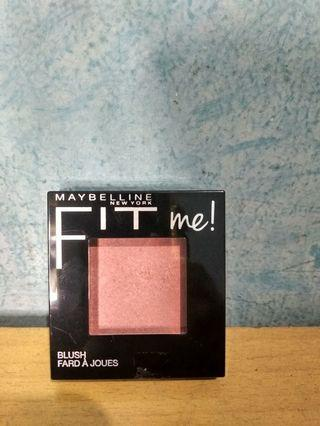 Blush on maybelline fit me