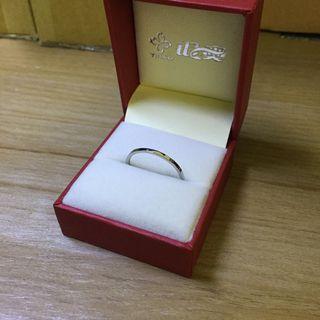 銀色 1.7cm 不鏽鋼 鈦鋼 戒指 鋼戒 尾戒 全新 女用