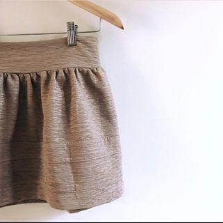 gold skirt #mauthr