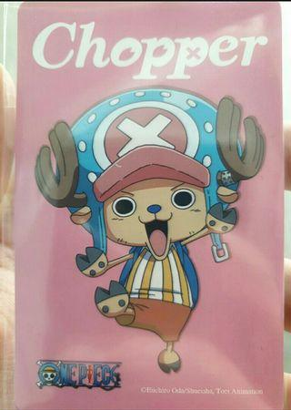 Chopper One Piece Ezlink Card collection