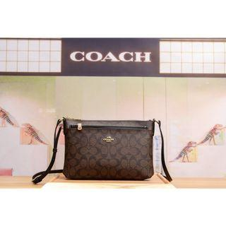 COACH; Crossbody with Additional Zip Pouch 8 Colours Available