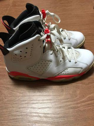 Nike Jordan 6 us8. 5男裝