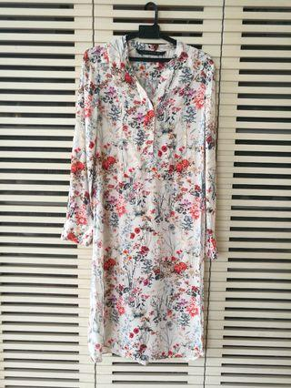 Zara women long top