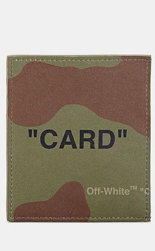Off white 卡夾 錢包