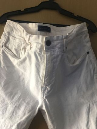 bb5a66c8 white jeans | Men's Fashion | Carousell Philippines
