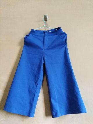 Celana Kulot Biru