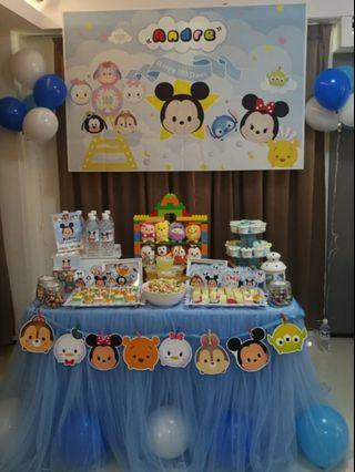 Tsum tsum dessert table/items rental