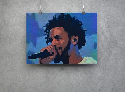 J. Cole - High quality print