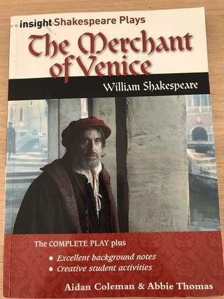 Merchant of Venice insight book