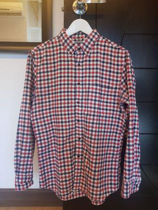 Uniqlo Flannel Men Shirt #MGAG101