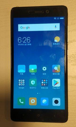 紅米 3s 32G redmi 3s  100%正常  香港行貨小米手機
