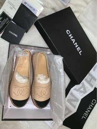 Chanel Espadrilles- Brand new