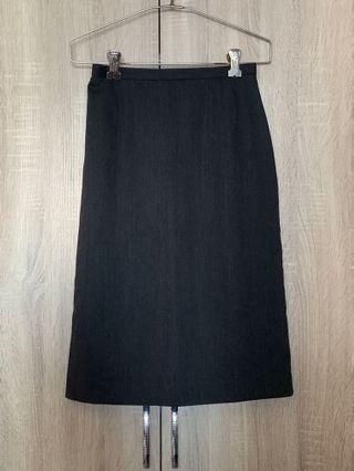 🚚 Black Long Pencil Skirt