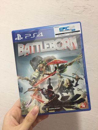 🚚 BATTLEBORN PS4 Game
