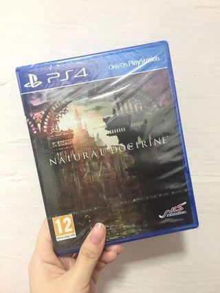 🚚 NATURAL DOCTRINE PS4 Game