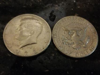 Half dollar america