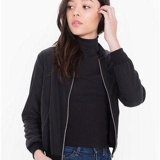 american apparel black 'amelia' jacket