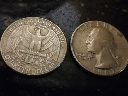 Quarter dollar america