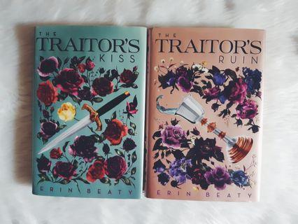 HB SET: The Traitor's Kiss + The Traitor's Ruin by Erin Beaty