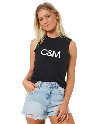 C&M Camilla & Marc Classic Logo Tank Size 6