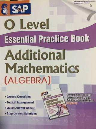 🚚 O Level A Maths (algebra)