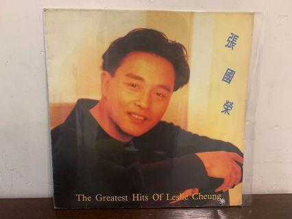 張國榮 The Greatest Hits of Leslie Cheung 黑膠唱片