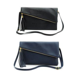 Instock! GIVENCHY PARFUM (Black, Navy) Crossbody Clutch Envelope Sling Bag  ASC3141 + FREE Post